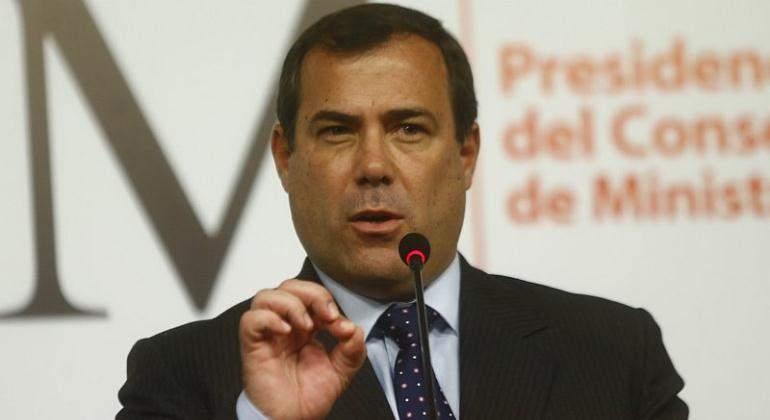 Ministro Bruno Giuffra se muestra en contra de exoneraciones tributarias a aerolíneas