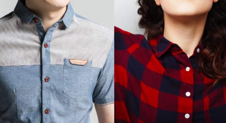 Por qué los botones de la ropa de mujeres y hombres están