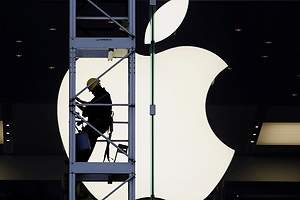 Apple recorta un 27% su beneficio