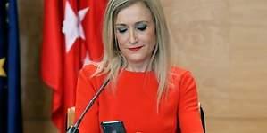 Cristina Cifuentes, troleada por Wikipedia