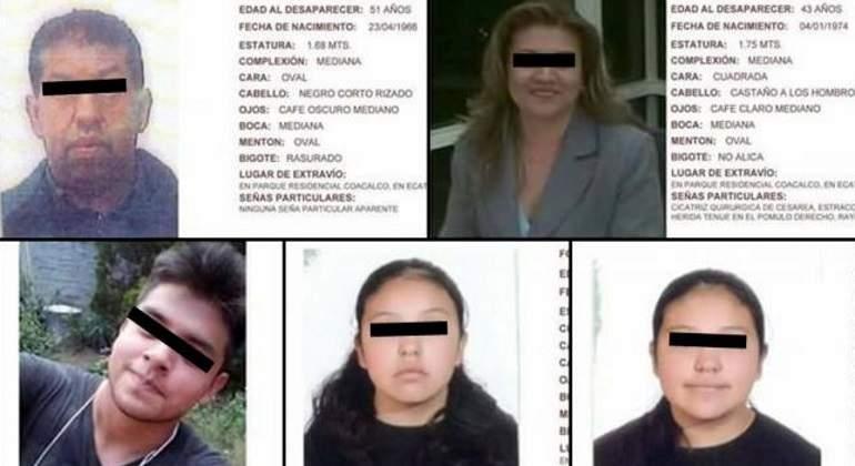 Cuerpos hallados en Tultepec son de familia desaparecida