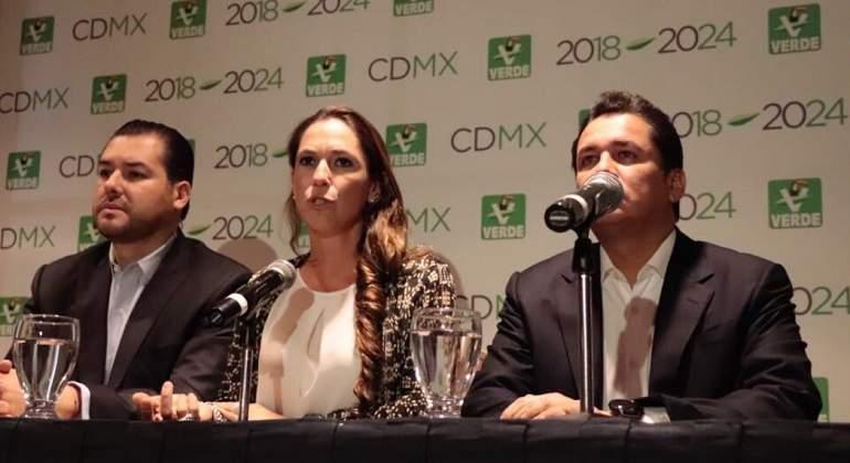 Mariana Boy, candidata del Verde al Gobierno de la Ciudad de México