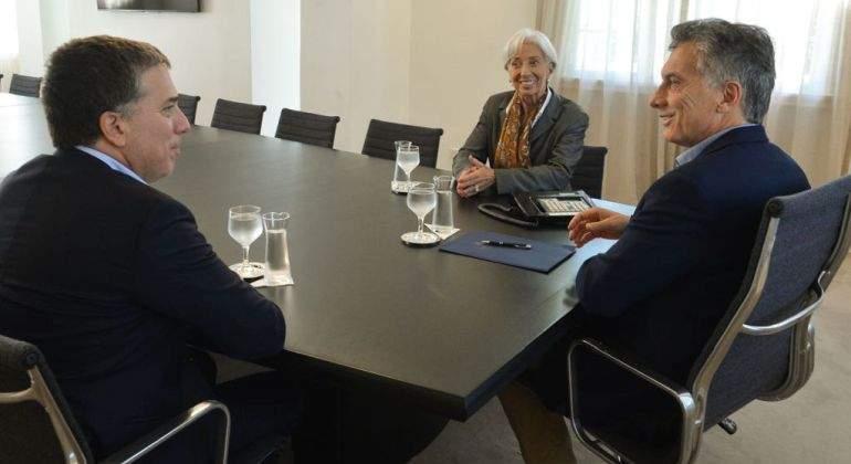 Reunión de Macri y la titular del FMI, elogios al gradualismo
