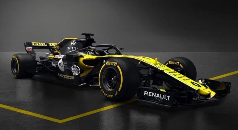 Renault RS18: así es el monoplaza de Carlos Sainz para la temporada 2018