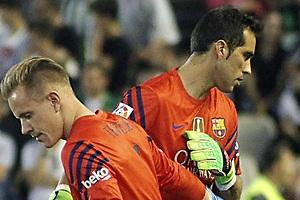 Alerta: ¿el Barça sin portero?