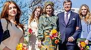 Alexia de Holanda, futura compañera de Leonor, se desmarca de su madre y sus hermanas: vestido de Maje y sandalias de Zara