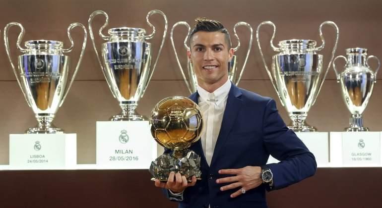detective consenso Donación  Nike desvela involuntariamente el quinto Balón de Oro de Cristiano Ronaldo  - EcoDiario.es