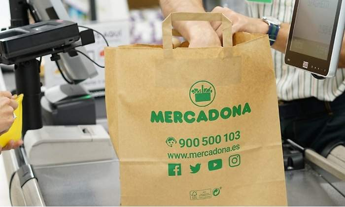 seleccione para el último mejor mayor selección de Mercadona retirará todas las bolsas de plástico de sus 1.600 ...
