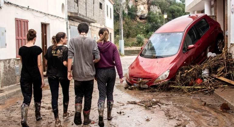Una riada dejó tres muertos y pérdidas materiales en la misma zona de Mallorca hace 30 años