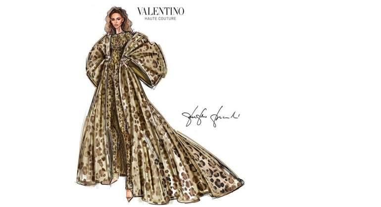El modelo 'animal print' de Valentino que luce Beyoncé en 'Black is King'.