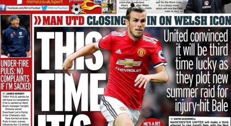 Mourinho insiste en su deseo de fichar a Bale