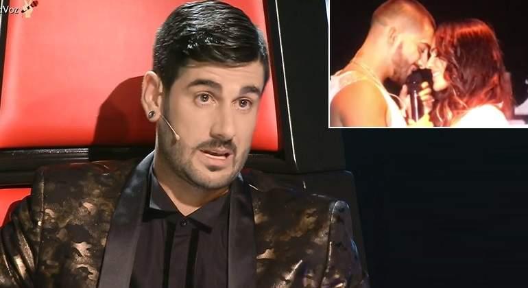 El Dardo De Melendi A Maluma En La Voz Por Besar A Su Ex En Un Concierto Ecoteuve Es