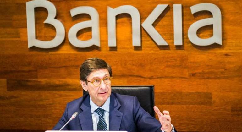 Bankia reduce un 23% su beneficio en 2019, a 541 millones