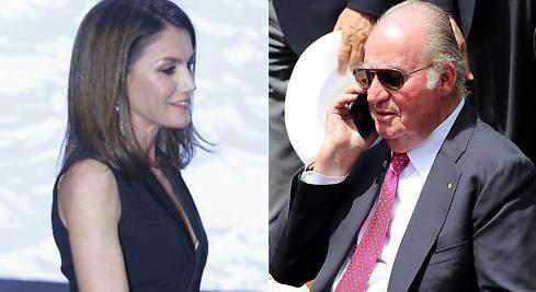 Juan Carlos y Letizia posarán juntos en Palma este verano