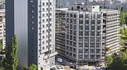 Vista de un edificio que est siendo rehabilitado