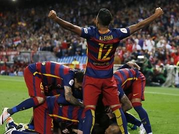 El Barcelona se proclama campeón de la Copa y cierra el curso con el doblete