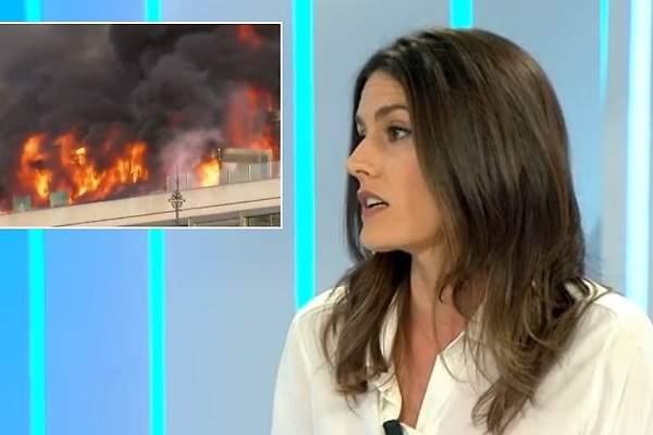 Una invitada de 39 espejo p blico 39 se entera en directo de que su hotel est en llamas - Espejo publico hoy ...