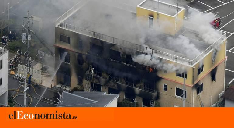 Un incendio provocado en un estudio de anime de Kioto deja 24 muertos y una treintena de heridos