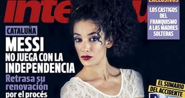La bailaora Lili Leukmoli, desnuda en Interviú