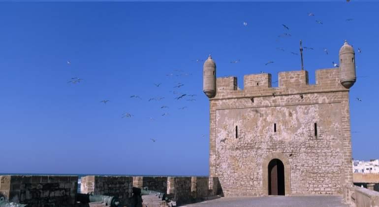Remparts d'Essaouira, Marruecos.