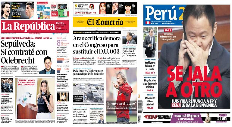 Presidente: Estamos poniendo en ridículo a Perú