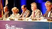 El presidente de Canarias ngel Vctor Torres interviene en un evento