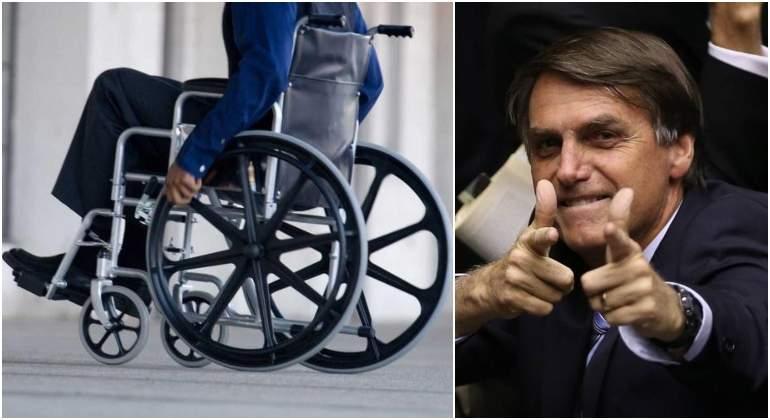 Resultado de imagen para Bolsonaro cancela bono a adultos mayores y discapacitados