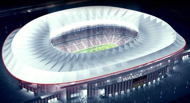 FCC empieza a construir la cubierta del nuevo estadio del Atlético de Madrid