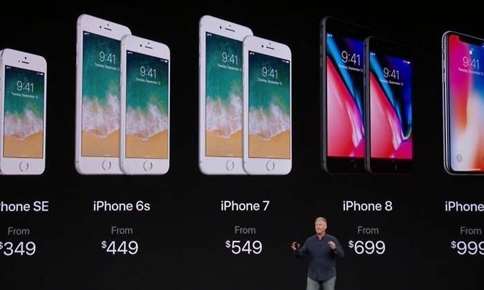 Apple presenta su nueva gama: así son los nuevos iPhone 8, iPhone 8 Plus y iPhone X