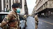 Italia ordena el cierre de toda actividad de producción no esencial tras otro nuevo récord de muertos diarios por coronavirus