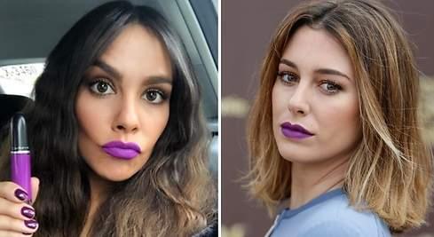 Ultravioleta: así lo llevan Cristina Pedroche y Blanca Suárez