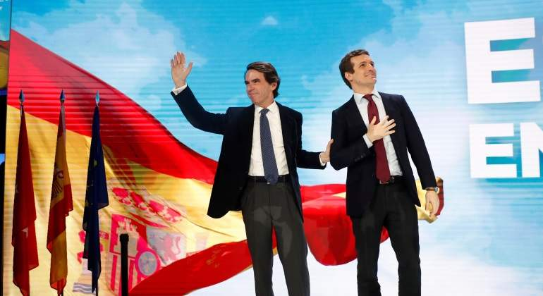 El aznarismo despierta la primera convención del PP de Pablo Casado
