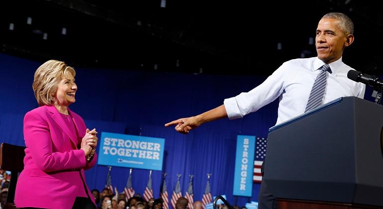 Obama asegura ser ahora más optimista acerca del futuro de EEUU y que Clinton acabará con EI