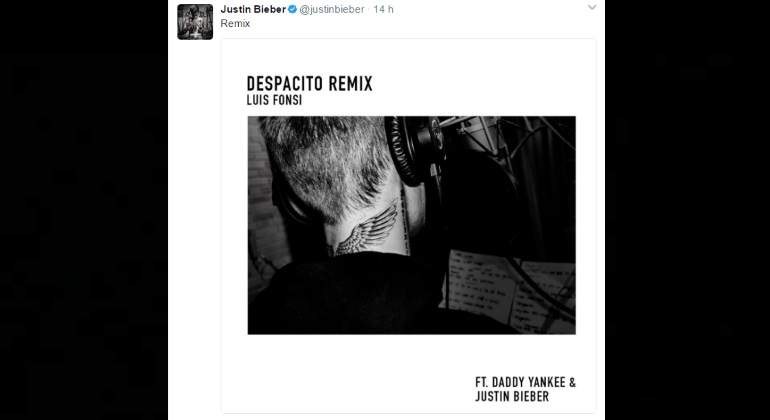 Justin bieber en remix con luis fonsi y daddy yankee for Justin bieber caracteristicas