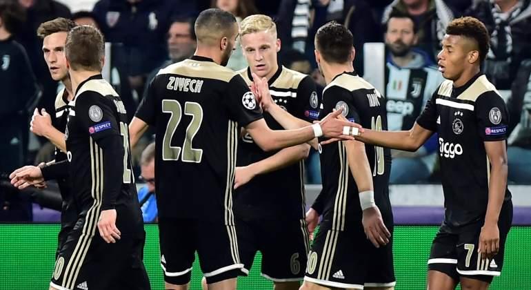 El Ajax se hace grande en Europa con una remontada épica ante la Juventus de Cristiano