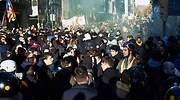 Los CDR detenidos ensayaron con teléfonos clandestinos en los disturbios contra el Consejo de Ministros de Barcelona el pasado