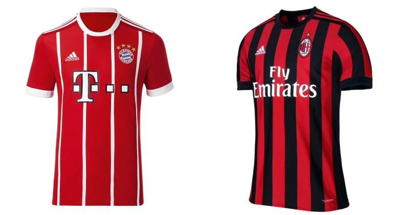 aaa9636e46287 Las emotivas equipaciones del Bayern de Múnich y Milan - EcoDiario.es