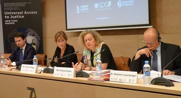 Europa pide más recursos para la Justicia española