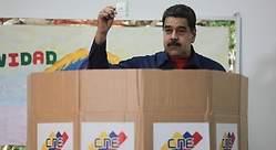 Maduro veta a la oposición para las presidenciales