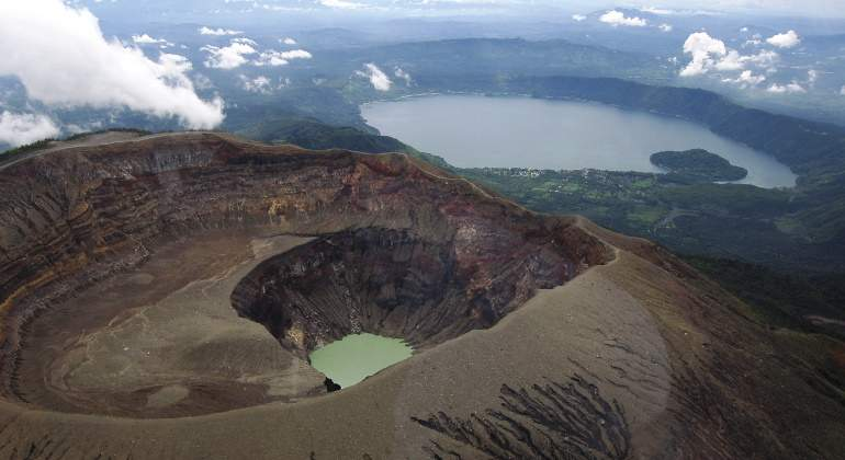Volcán Santa Ana.