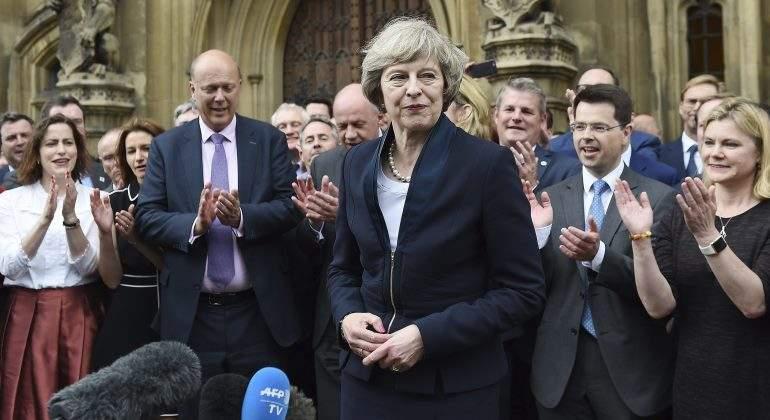 Theresa May asume el cargo como primera ministra de Reino Unido
