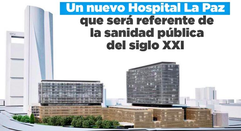 adf3deb4c Así será el nuevo Hospital La Paz  Madrid levantará cuatro edificios más y  un hotel para familiares - elEconomista.es