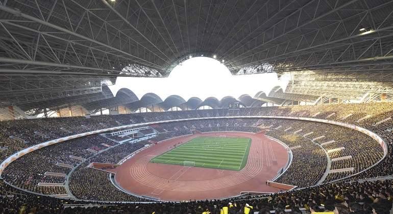 734f98ba51e48 Corea del Norte lidera la lista de estadios con mayor capacidad del mundo