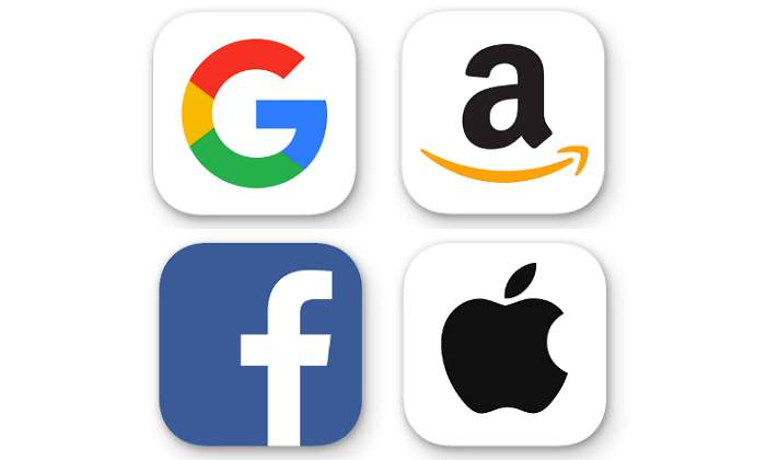 Resultado de imagen para Google, Facebook, Amazon y Apple