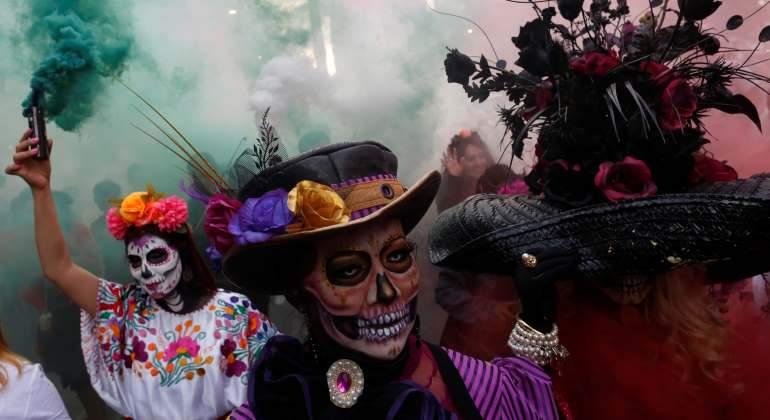 Celebran el Día de Muertos