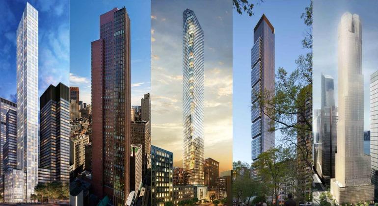 Los rascacielos ya no quieren ser altos, quieren ser esbeltos
