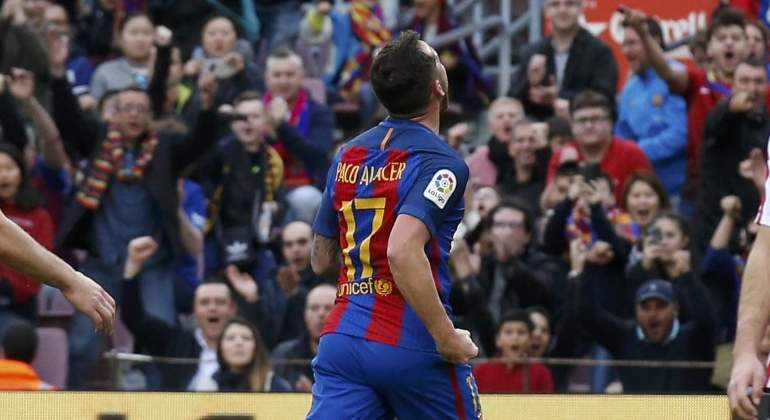 Valverde condena a Alcácer al ostracismo