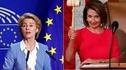 Ursula Von der Leyen y Nancy Pelosi