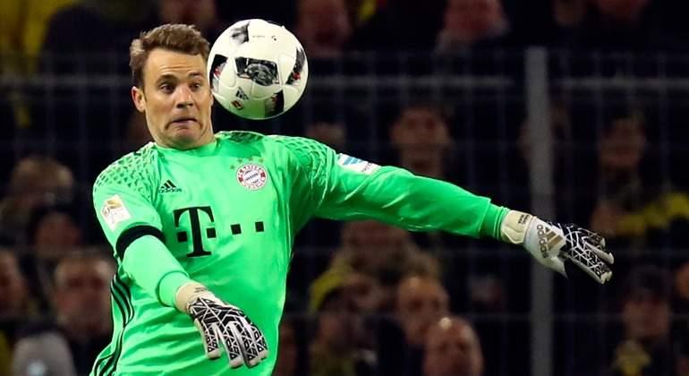 Neuer se lesiona en un dedo y dispara las alarmas en el Bayern antes ...