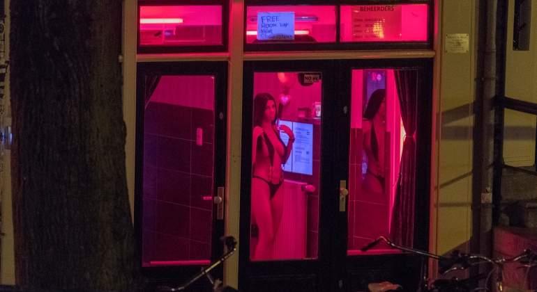 prostitutas barrio rojo amsterdam protitucion